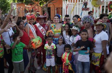 Carolina Segebre, reina del Carnaval de Barranquilla.