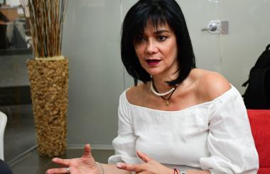 María Cristina Londoño, presidenta del Fondo Nacional del Ahorro.