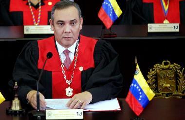 Christian Zerpa,, magistrado del Tribunal Supremo de Justicia de Venezuela.