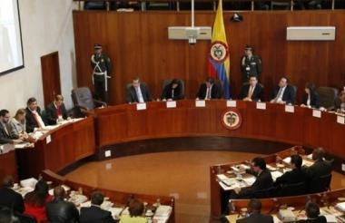 Corte Constitucional.