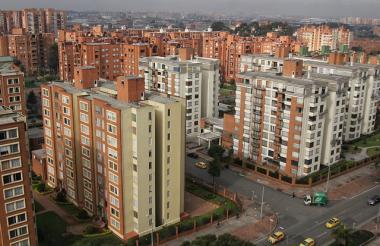 Edificios Residenciales en Bogotá.