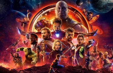 Avengers: Endgame, cinta del Universo Cinematográfico de Marvel.