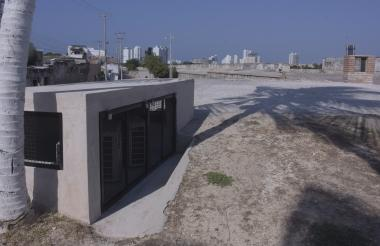 El extractor de calor metálico que fue retirado del Baluarte de San José , en el sector del pedregal del barrio de Gedsemaní,fue remplazado por uno de adobe.