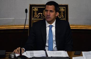 Juan Guaidó, presidente del Congreso de Venezuela.