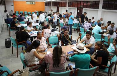 Aspecto de las mesas técnicas liderada por la Alcaldía de Riohacha, que iniciaron desde el 10 de enero.