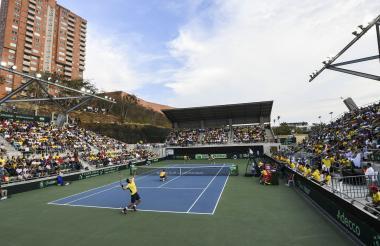 En el Parque de Raquetas ya se jugó la Copa Davis.