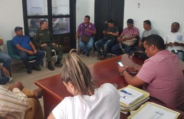 Consejo de seguridad realizado por las amenazas a ediles y comunales.