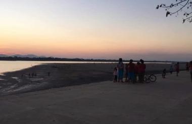 Corregimiento de Puerto Bocas jurisdicción,  del municipio de Tamalameque, Cesar, donde ocurrió la tragedia.