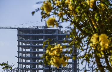 Nueva construcción al norte. El Distrito continuará realizando la actualización catastral.