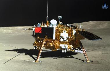 Sonda lunar Chang'e-4. Foto de referencia.