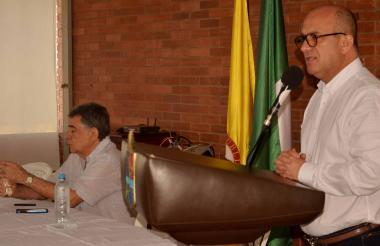 Edgar Ortiz, director del Fondo Adaptación.