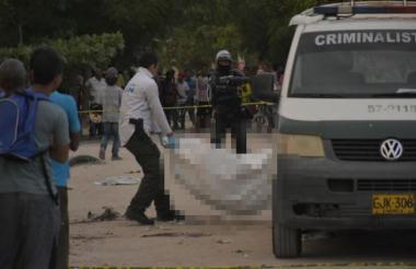 En Barranquilla, en 2018 se presentaron 40 homicidios menos que en 2017. Fueron 311 los casos, que se traducen en promedio de 25 personas asesinadas cada mes.