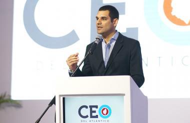 El empresario Efraín Cepeda Tarud.