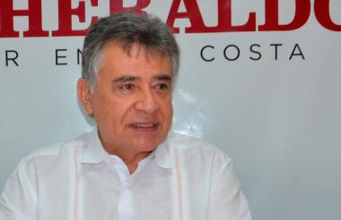 El gobernador de Sucre, Edgar Martínez Romero.
