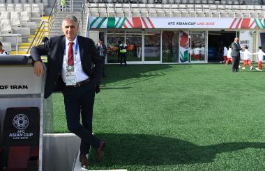 El portugués Carlos Queiroz se encuentra participando en la Copa de Asia con la selección de Irán.