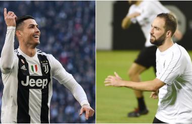 Cristiano Ronaldo y Gonzalo Higuain, referentes de los dos equipos.