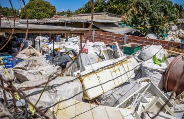 Planta recicladora ubicada en Los Olivos.