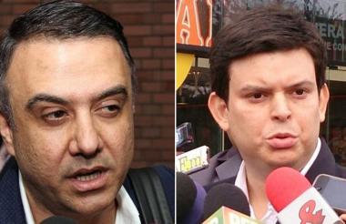 Edwin Besaile Fayad y Alejandro Lyons Muskus