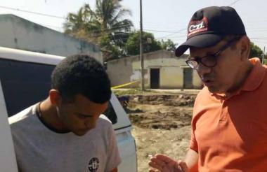 Damir Charris fue capturado en Los Mangos.