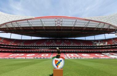 El estadio da Luz es propiedad del equipo Benfica.