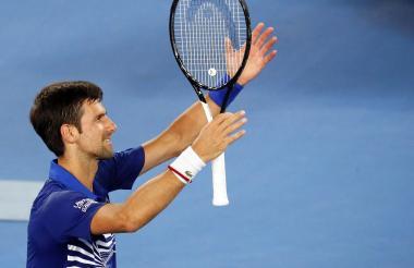 El serbio Novak Djokovic, número uno del tenis mundial.
