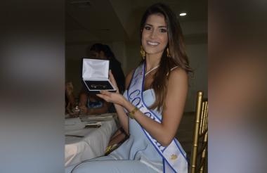 Gabriela Tafur Nader, señorita Colombia.