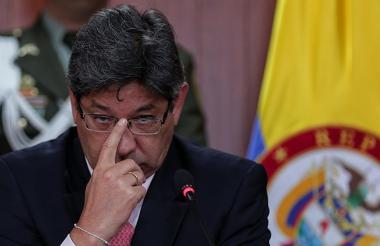Alejandro Linares, presidente de la Corte Constitucional.