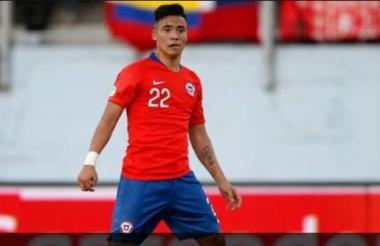 Nicolás Díaz, jugador chlleno