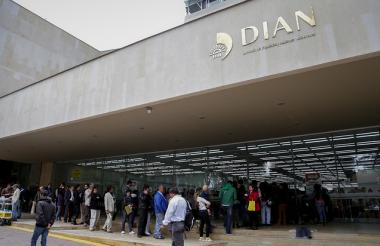 Edificio de la Dian.