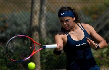 La tenista colombiana Jessica Plazas no pudo con la puertorriqueña Lauren Anzalotta.