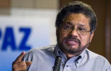 'Iván Márquez', exjefe guerrillero de las Farc.