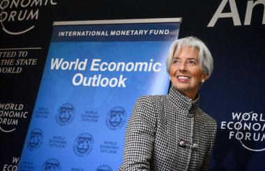Lagarde, directora general del FMI.
