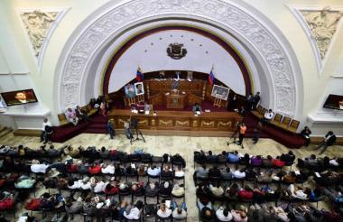 Parlamento venezolano. Imagen de referencia.