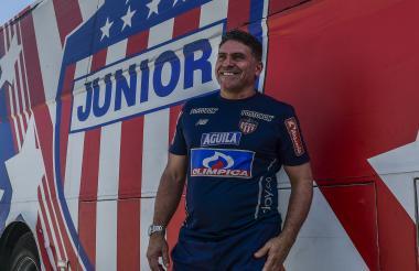 Luis Fernando Suárez inicia su historia en Junior.