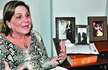 Magda Correa de Andreis, hermana del sociólogo Alfredo Correa de Andréis.