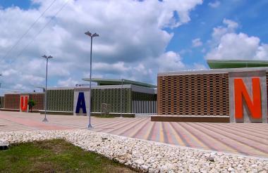 Vista de la sede de la Uniatlántico en Suan.