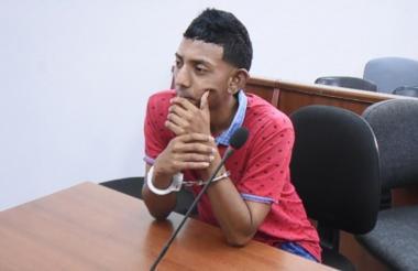 Osnaider José Salas Pérez, asegurado en la cárcel Modelo.