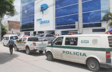 La pequeña permanece en la clínica Cehoca, donde fue sometida a varias intervenciones.