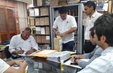 En la oficina Jurídica de la Gobernación de Sucre se hizo el proceso.
