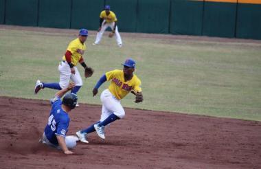 Aspecto del juego entre Caimanes y Leones de Nicaragua.