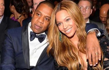 Jay-Z y Beyoncé.