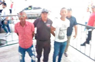 Wilfred Sanjuan Orozco y Cristian Sanjuan Maldonado.