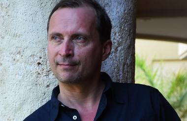 Morten Strøksnes conversó en Cartagena sobre su travesía con Luna Miguel.