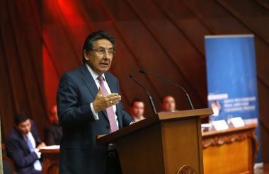 El fiscal general, Néstor Humberto Martínez.
