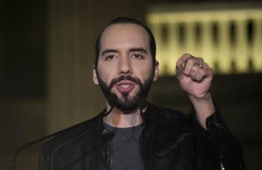Nayib Bukele, candidato a la Presidencia de El Salvador.