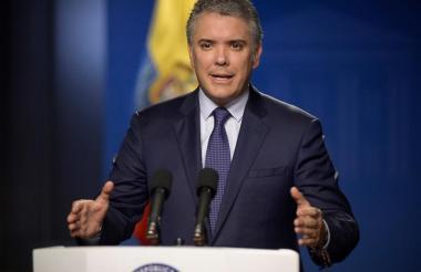 El presidente Duque da detalles de lo que fue el operativo contra 'Rodrigo Cadete'.