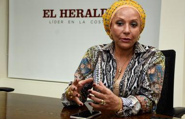 Piedad Córdoba, exsenadora.