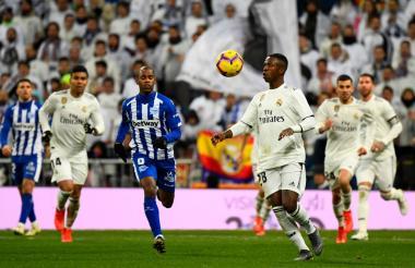 Vinicius, delantero del Real Madrid.