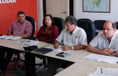 Suárez, Adriana Uribe, Vengoechea y Camilo Noguera.