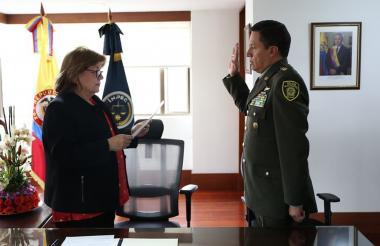 Posesión del nuevo Director del Inpec, general William Ruiz.